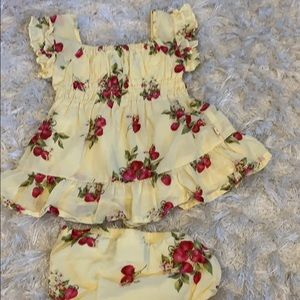 Juicy couture 3-6 month cherry dress